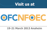 OFC 2013 exhibition