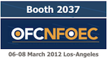 OFC 2012 exhibition