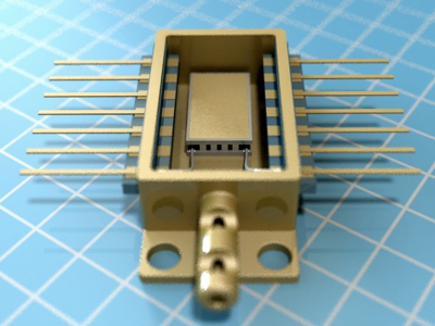 Inside A Butterfly Miniature Thermoelectric Coolers For